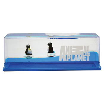 Penguin Wave Paperweight